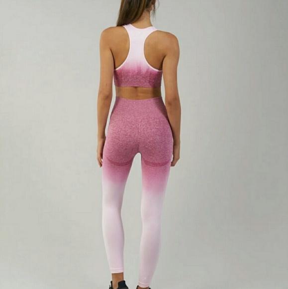 d9c326e6e1d16 Gymshark Pants | Seamless Pink Ombre Leggings | Poshmark